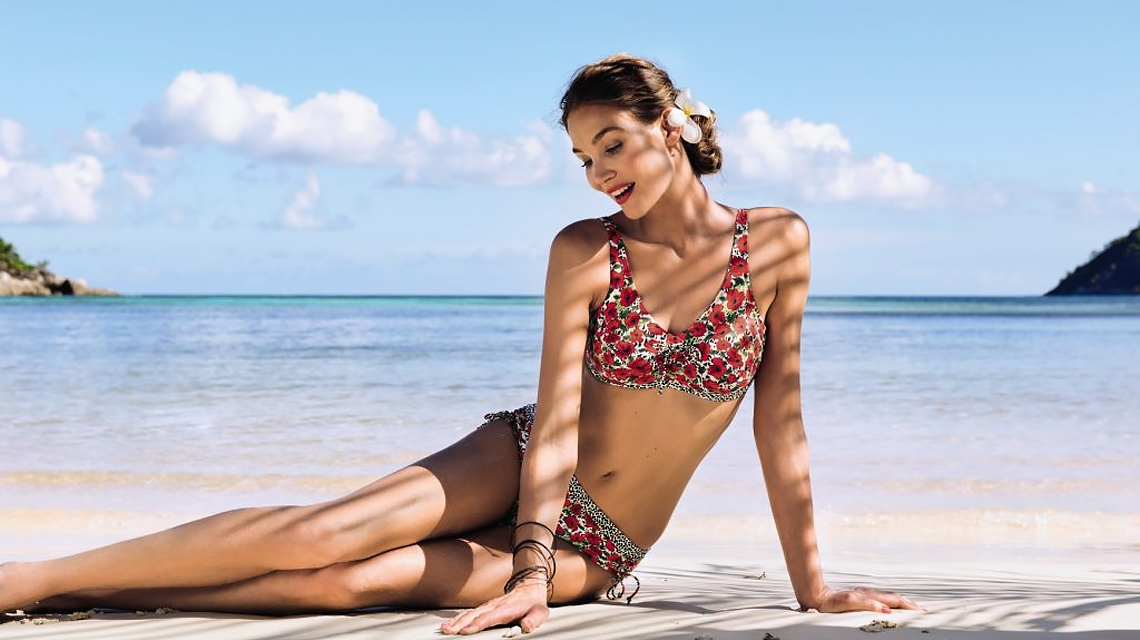 The Right Swimsuit Neckline